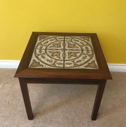 Danish tiled coffee table